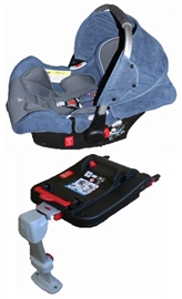 Автокресло forkiddy lagun-i-fix (0-13 кг) с isofix (синий)