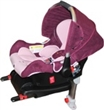 Автокресло forkiddy lagun-i-fix (0-13 кг) с isofix (розовый)