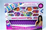 Резинки для плетения rainbow loom bracelet maker (арт. 9-4773)