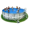 Каркасный бассейн intex 54470 ultra frame pool 488 x 122
