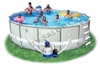 Каркасный бассейн intex 28332 ultra frame pool set 549x132см (старый арт. 54926)