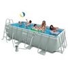 Каркасный бассейн intex 28350 rectangular frame pool 400x200х100см (старый арт. 54182)