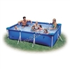 Каркасный бассейн intex 58983 rectangular frame pool 220 x 150 x 76