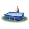 Каркасный бассейн intex 58980 rectangular frame pool 260 x 160 x 65