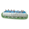 Каркасный бассейн intex 54490 rectangular ultra frame pool 975 x 488 x 132