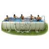 Каркасный бассейн intex 54474 rectangular ultra frame pool 549 x 274 x 132