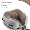 Массажная подушка u-shaped massage pillow kneading pillow usb ( арт. 9-7527)